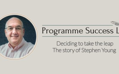 Deciding to take the leap – The story of Stephen Young